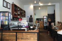 Cafe in the heart of Moonee Ponds Famous Strip Tkg $9,000 pw (Our Ref V959)